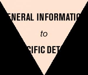 General Information to Specific Details